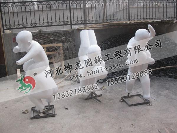 玻璃鋼人物雕塑030