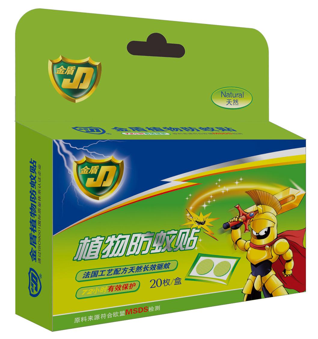 金盾植物防蚊貼20枚