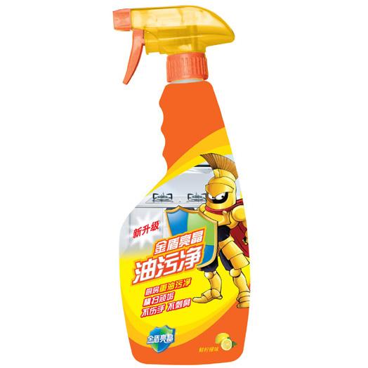 金盾亮晶 油污凈500ml(鮮檸檬味配方)