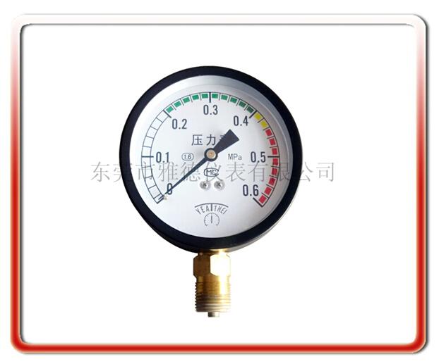 100MM徑向氣壓表