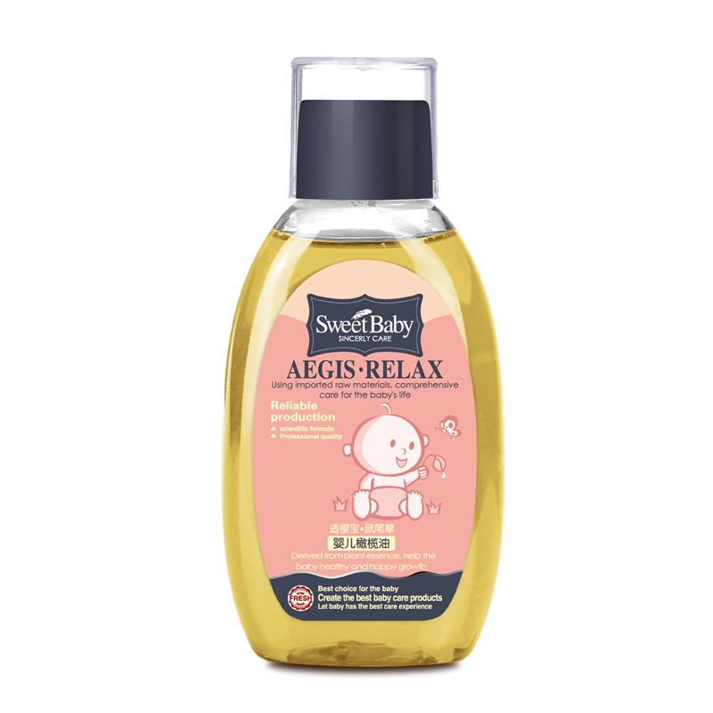 【洋蘇草】 新.適櫻寶 嬰兒橄欖油130ml