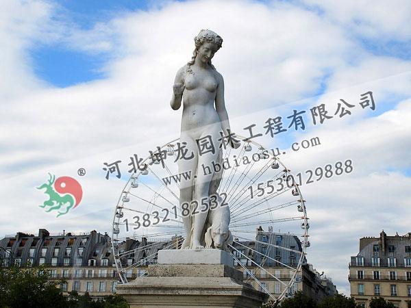 人物石雕097