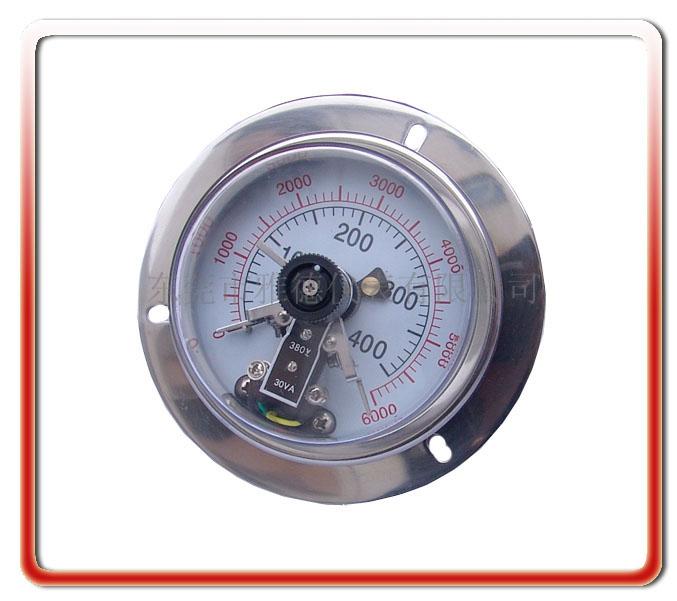 100MM耐震電接點壓力表