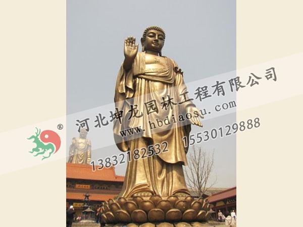 佛像銅雕012