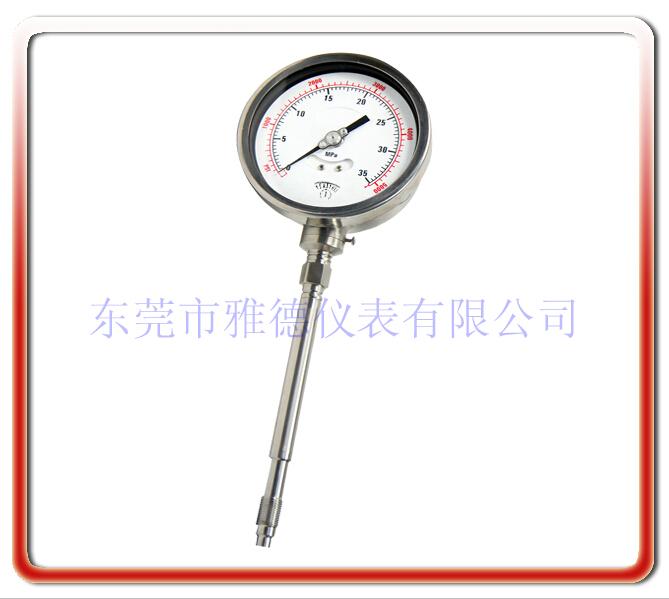 剛性桿熔體壓力表