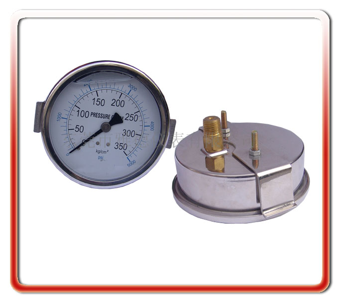 100MM軸向偏心油壓表