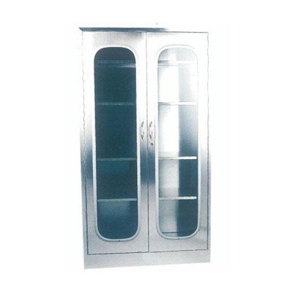全不銹鋼雙門五層器械柜(可分六層)