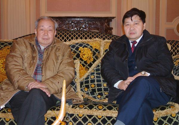 與著名經濟學家劉詩白教授交流