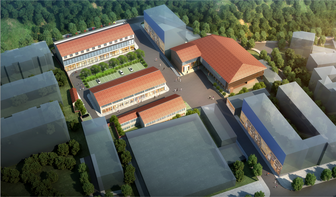 漢陰縣供銷北門商貿市場修建性詳細規劃