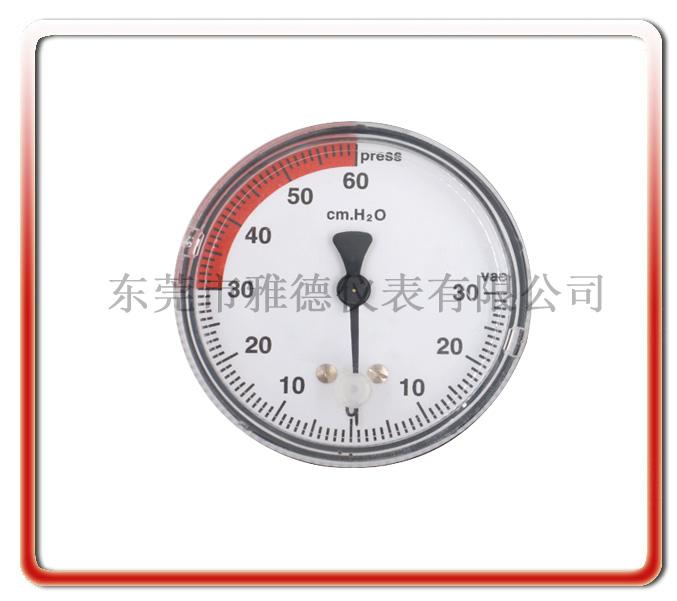 動物呼吸麻醉機微壓壓力表