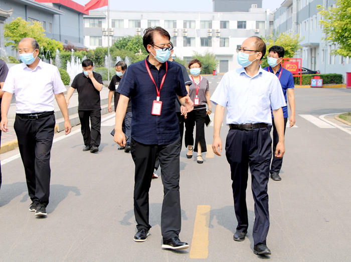 鹿泉区副区长刘汉华来司调研冷链疫情防控及安全工作