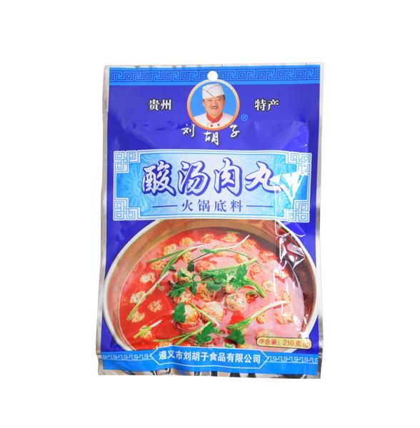 酸湯魚丸火鍋底料