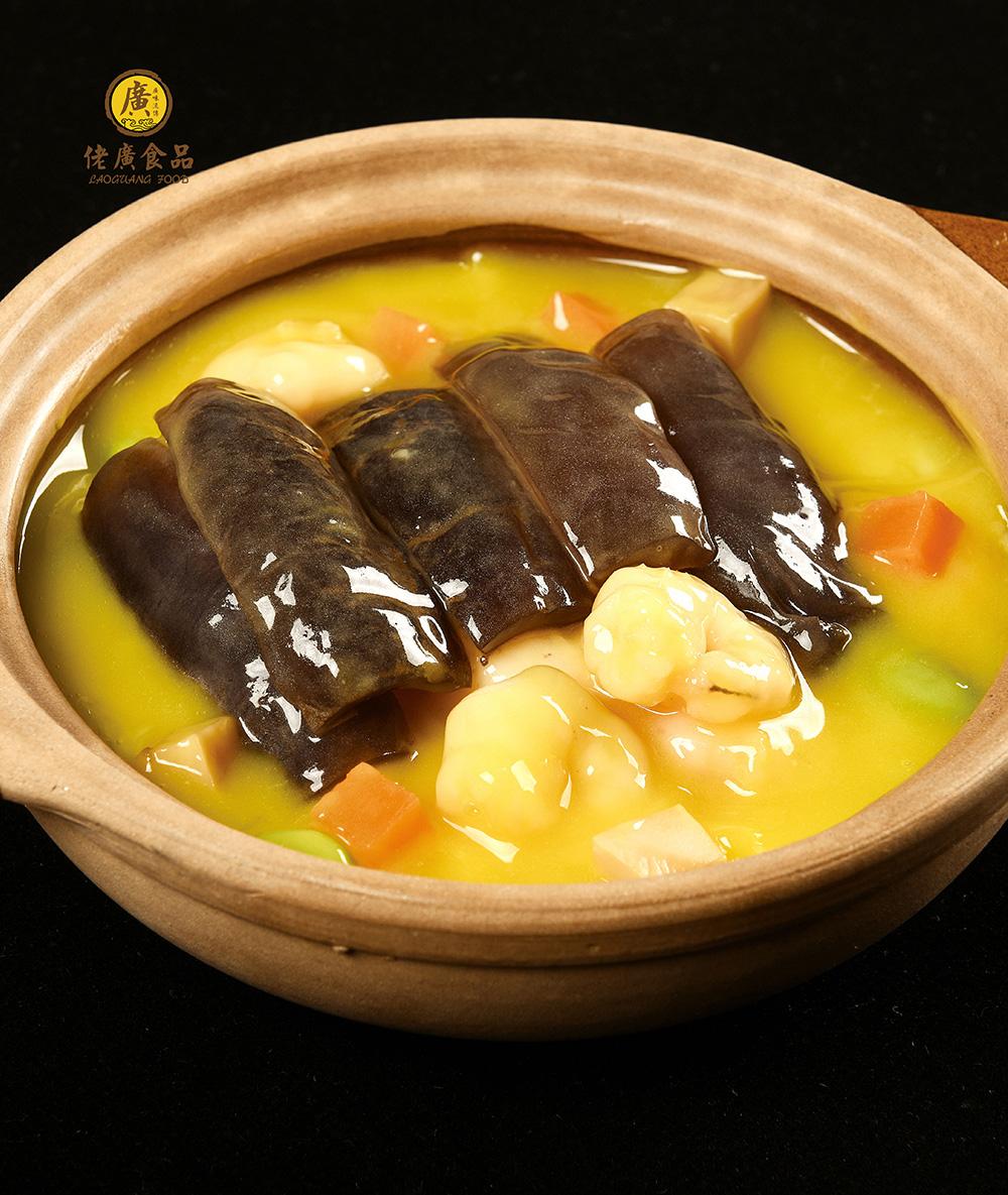 黃燜海參煲撈飯