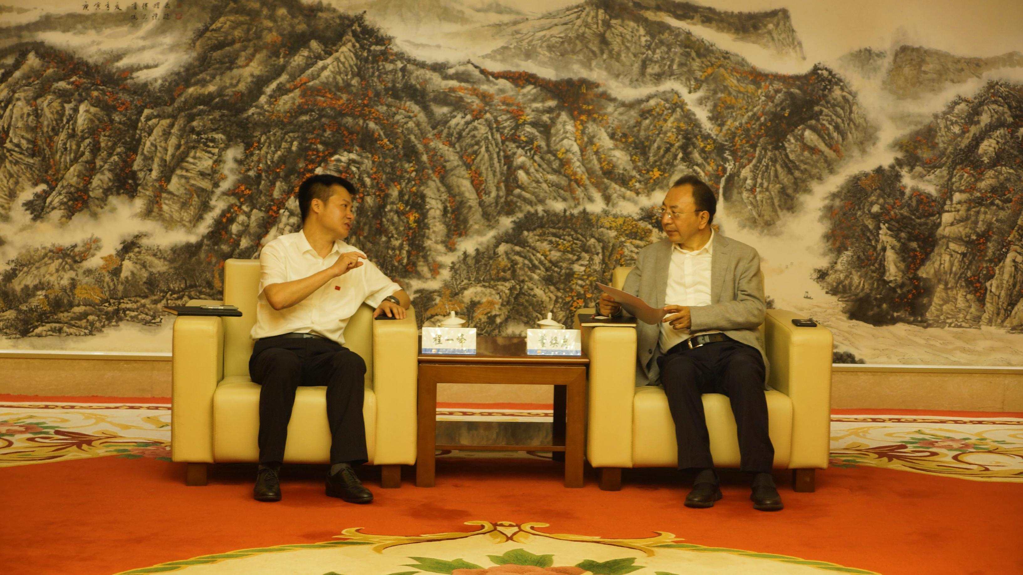 集團副總裁程一峰博士率隊拜訪中國石油西南油氣田公司