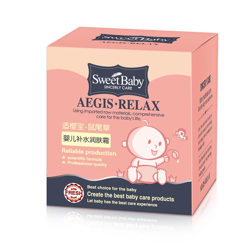 【洋蘇草】 新.適櫻寶 嬰兒補水潤膚霜30g