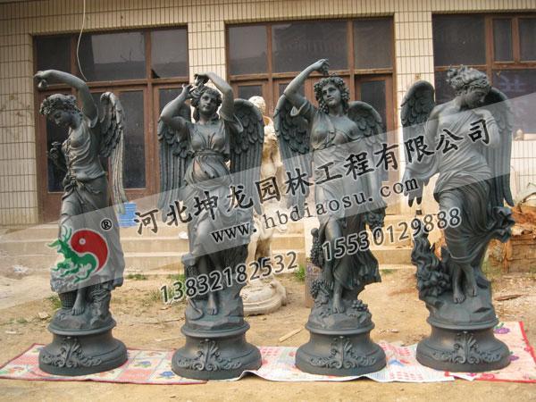 玻璃鋼人物雕塑025