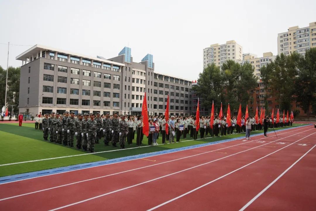 戎裝青春 強國有我——2021級新生勇士軍訓開營式