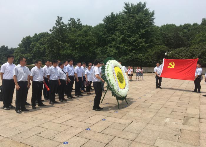 國信物業黨支部定期開展黨員文化建設