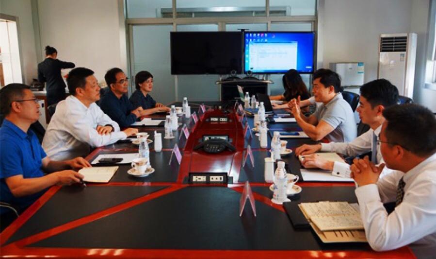 正大集團農牧食品企業中國區副董事長白宇飛一行訪問集團考察智能科技項目