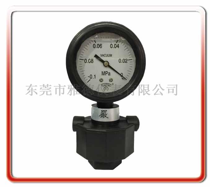單面PP真空隔膜壓力表
