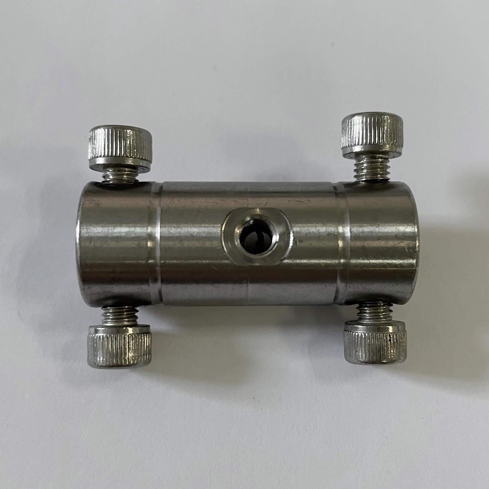 頂針式不銹鋼雙接雙噴180°