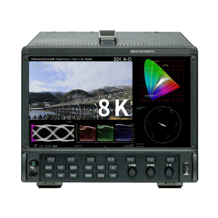 8K SDI波形監視器