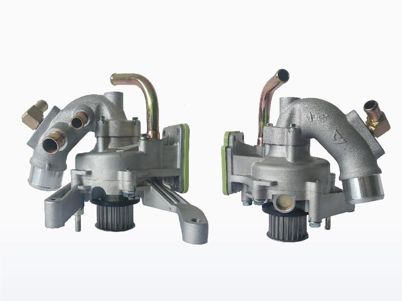 水泵及进水管部件