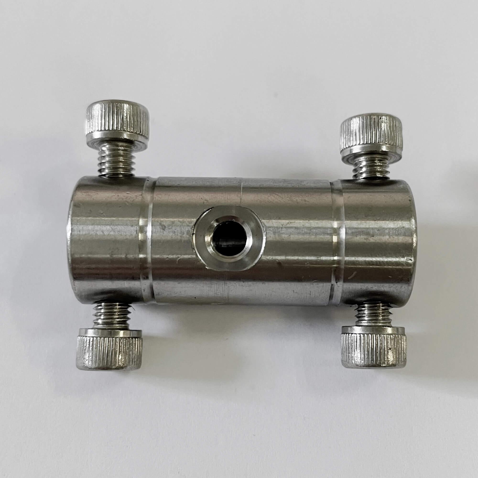 頂針式不銹鋼雙接單噴