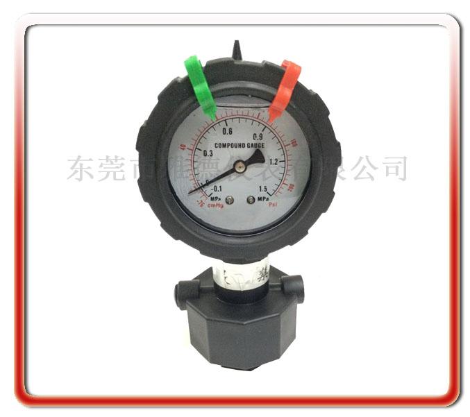 單面PP隔膜式壓力真空表