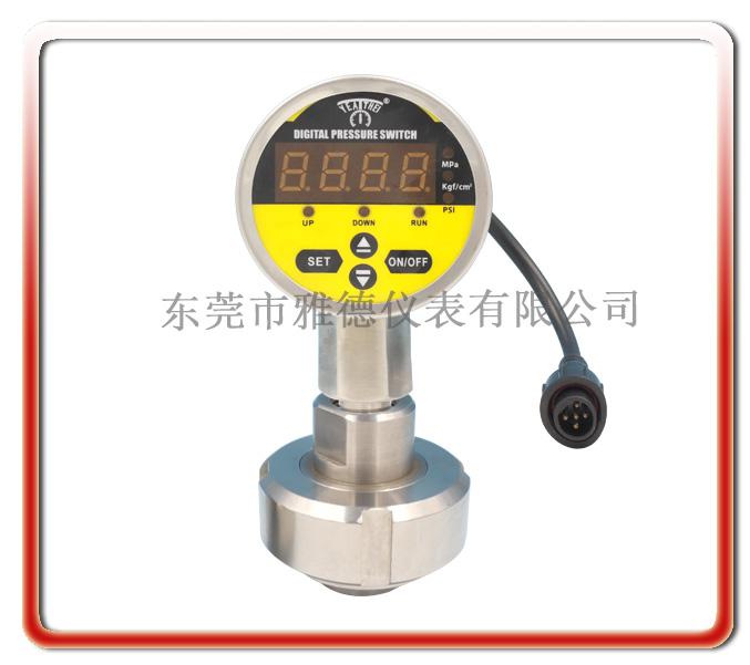 60MM 全不銹鋼隔膜式數顯壓力表(內螺母式)