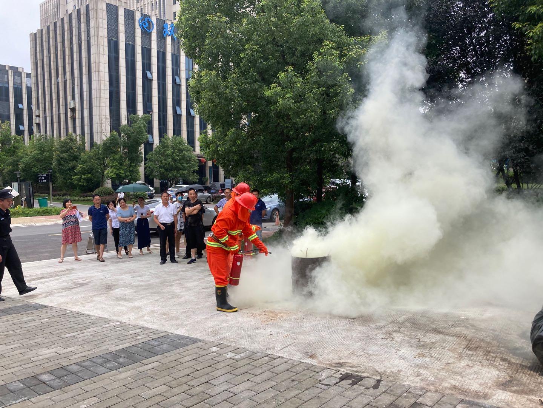 長沙總部基地舉辦消防培訓及演練