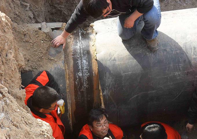 渭南熱力管網工程