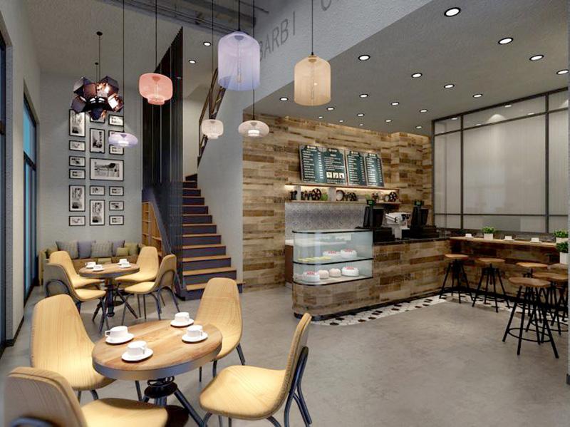 巴比松咖啡店設計