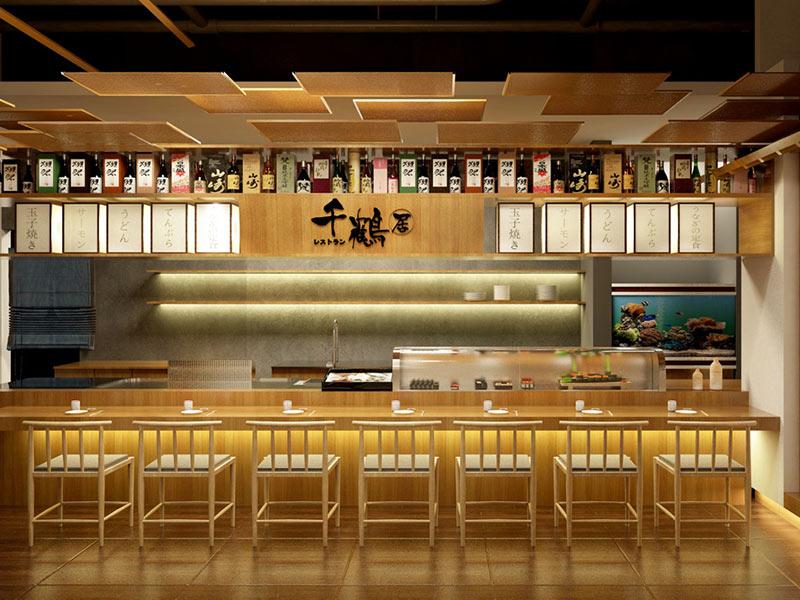 千鶴居日本料理店設計