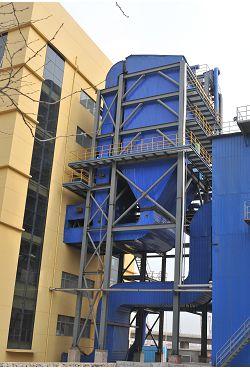 青島黃島熱電廠100t/h爐SCR脫硝裝置