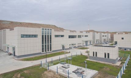 新疆经开区纬十五路污水处理厂