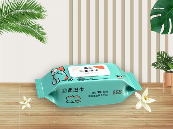 貓王嬰兒手口80片柔濕巾
