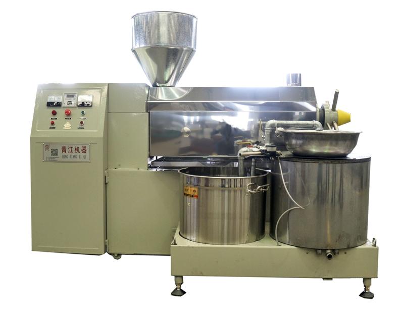 電加熱離心式精濾榨油機