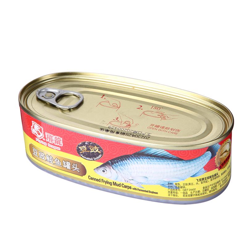 飞龙牌豆豉鲮鱼罐头184克