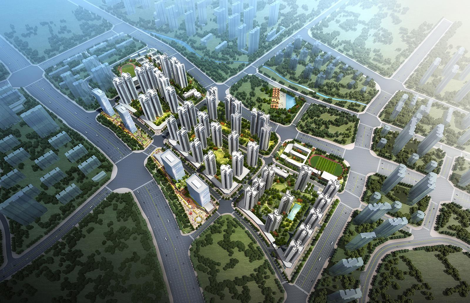 旺村南舊村改造項目