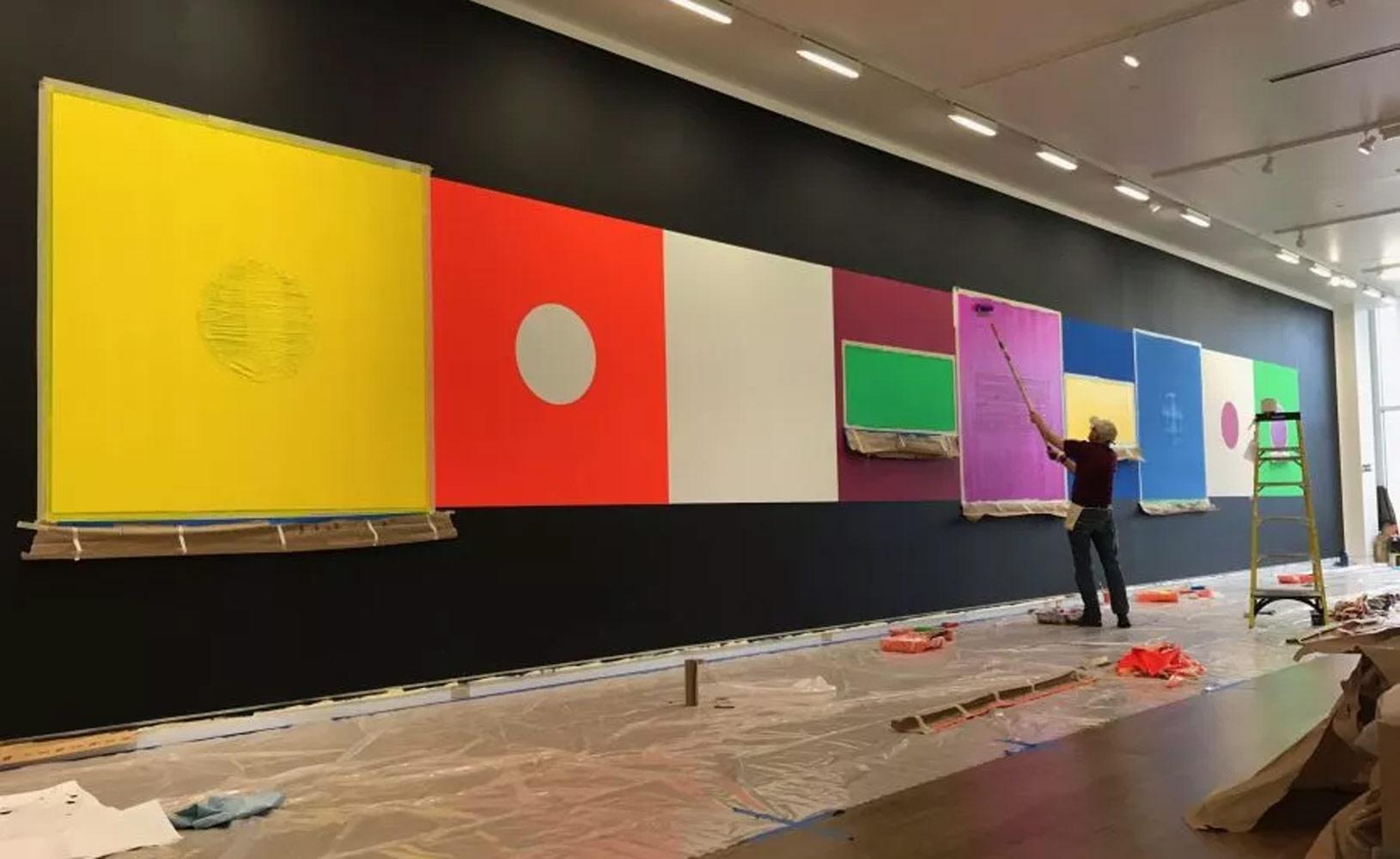 沉浸式的藝術裝置,詮釋光與色彩之美