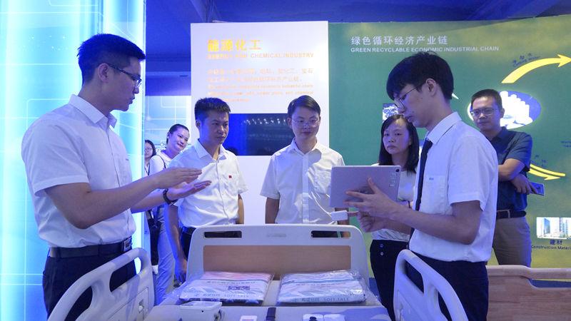 福州高新區管委會主任樊學雙率隊蒞臨大陸希望集團調研