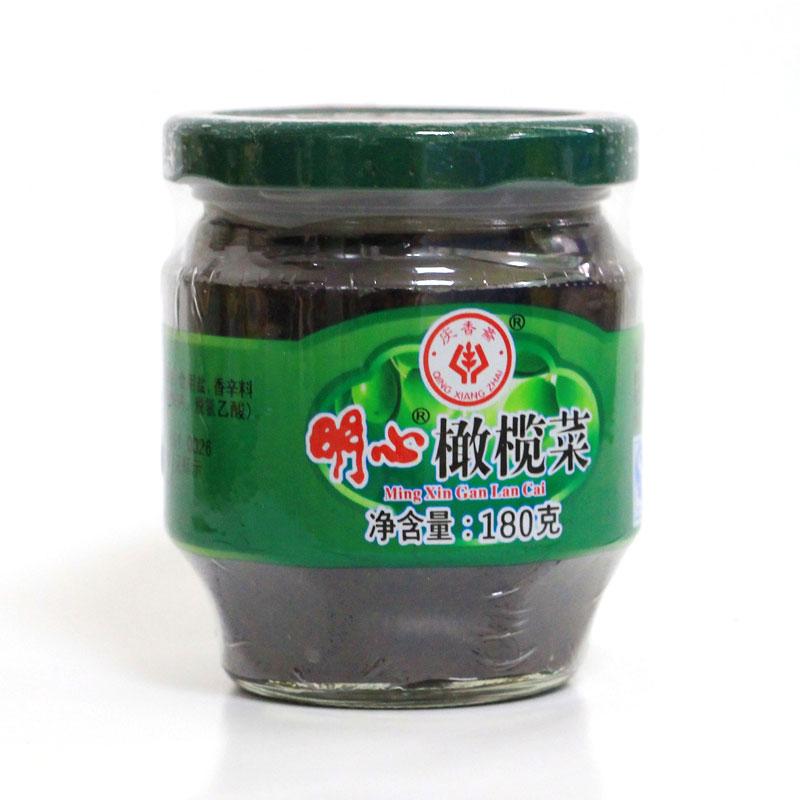 明心橄欖菜(180克)