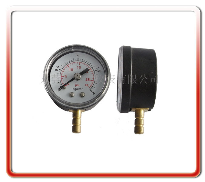 40MM徑向塑殼氣壓表