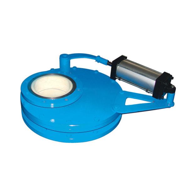 BZ643TC氣動耐磨陶瓷盤閥