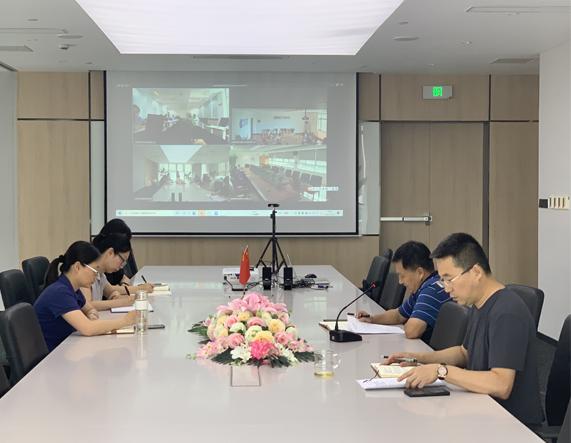 上海環保集團召開黨史學習教育專題黨課
