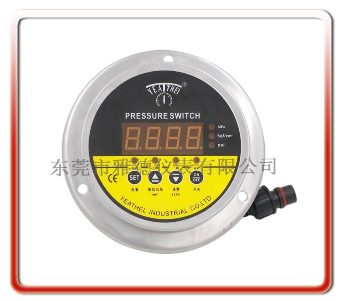 面板安裝式數字壓力表