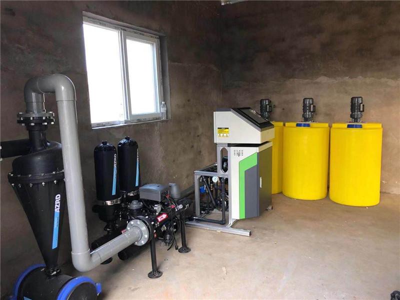 河南大棚噴灌水肥一體化設備