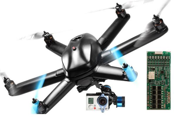 無人機/航模7串管理系統控制板