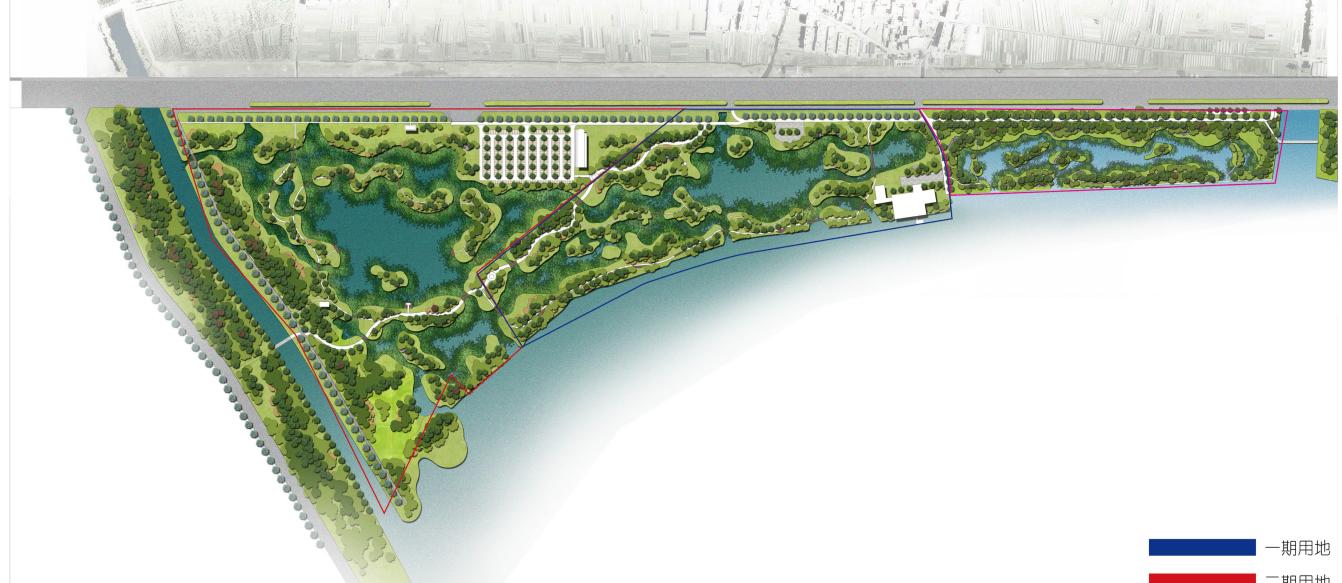 海東濕地公園景觀綠化工程